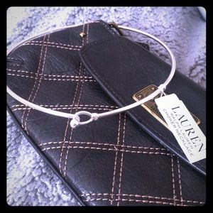 Lauren by Ralph Lauren silver choker necklace